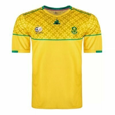 20-21 South Africa Home Yellow Jersey Shirt