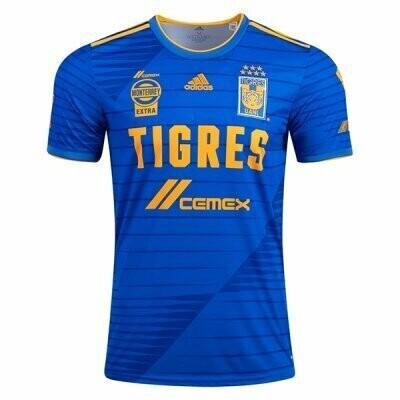 20-21 Tigres UANL Away Blue Soccer Jersey