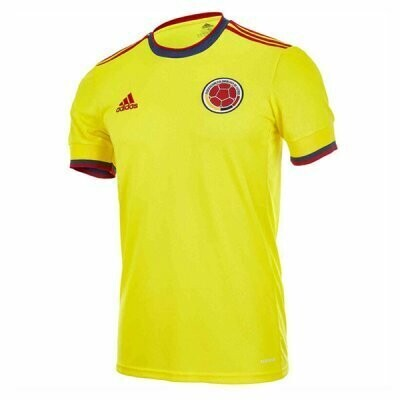 2020 Colombia Home Soccer Jersey