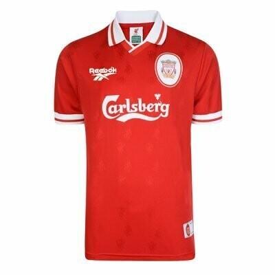 1996-1997 Liverpool Home Retro Jersey