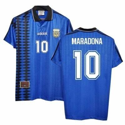 Argentina Maradona Away Retro Jersey 94/95