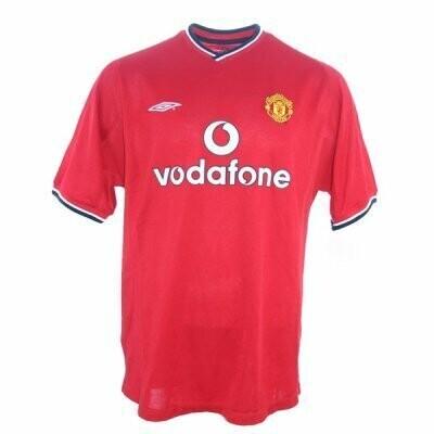 Manchester United Home Retro Jersey 2000-2002