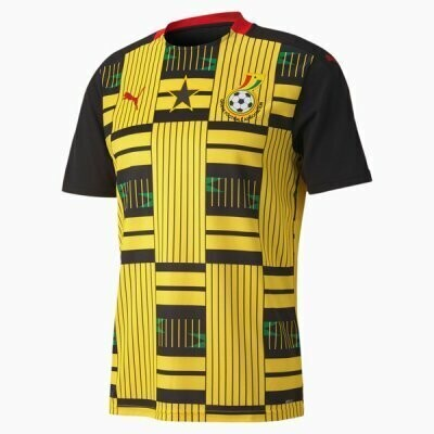 20-21 Ghana Away Soccer Jersey
