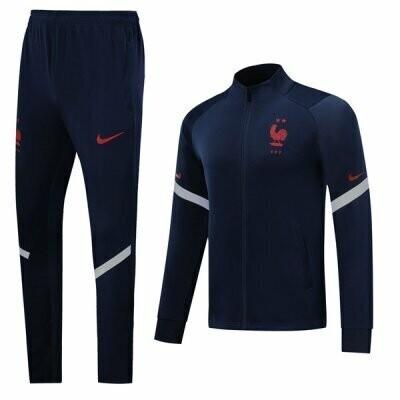 France Navy High Neck Jacket Kit 2020
