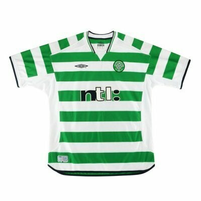 2001-2003 Celtic Home Retro Jersey Shirt