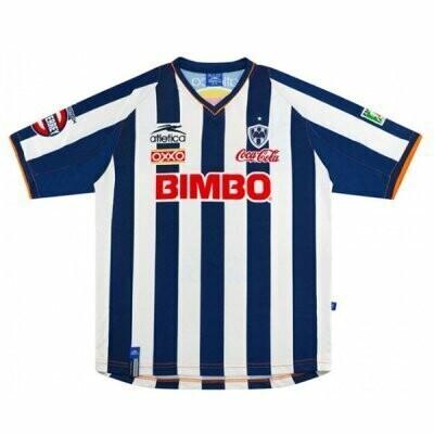 2002-2003 Monterrey Home Retro Jersey Shirt