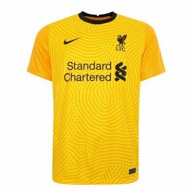 Liverpool Away Goalkeeper Soccer Jersey Yellow 20-21