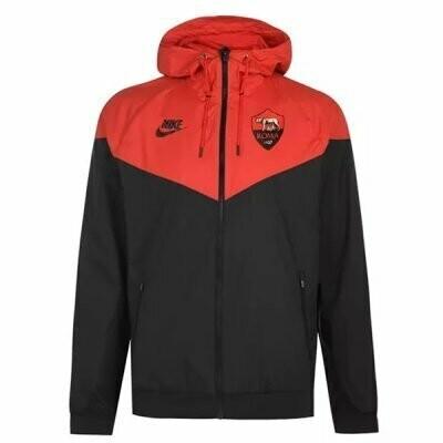 AS Roma Red&Black Vest Windrunner Jacket 20-21
