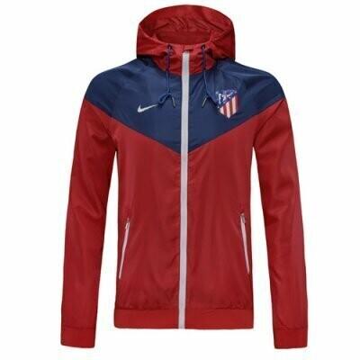 Atlético de Madrid Navy&Red Windrunner Hoodie Jacket 20-21