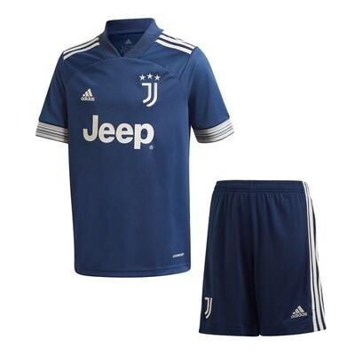 Juventus Away Soccer Jersey Kids Kit 20/21
