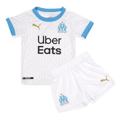 Olympique de Marseille Home Jersey Kids Kit 20/21