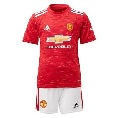 Manchester United Home Soccer Jersey Kids Kit 20/21