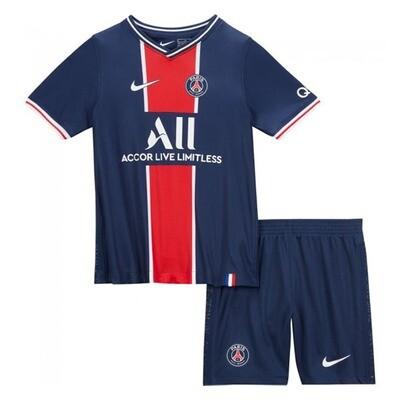 Paris Saint-Germain PSG Home Jersey Kids Kit 20/21