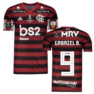 Adidas Gabigol Flamengo Copa Libertadores Final  Jersey Shirt 19/20
