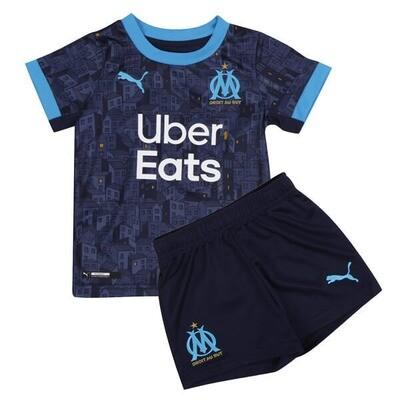 Olympique de Marseille Away Jersey Kids Kit 20/21