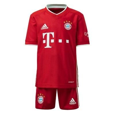 Bayern Munich Official Home Soccer Jersey Kids Kit 20/21