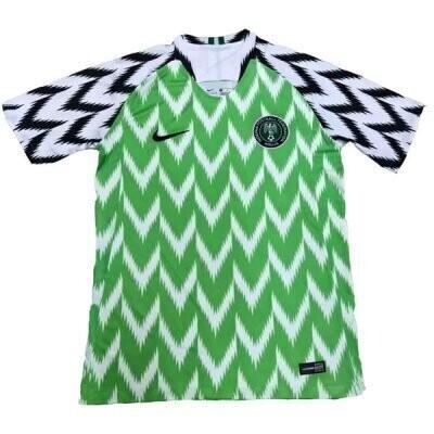 Nike Nigeria Official Home Jersey Shirt 2018