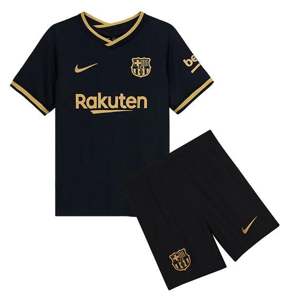 Barcelona Away Soccer Jersey Kids Kit 20/21