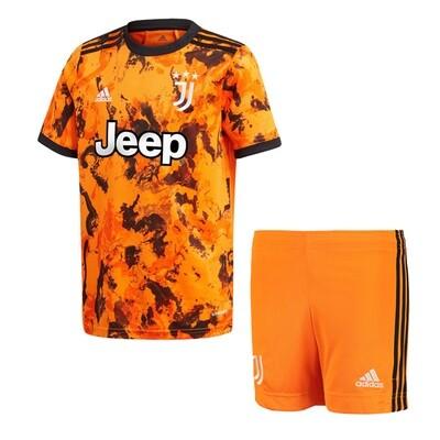 Juventus Third Soccer Jersey Kids Kit 20/21