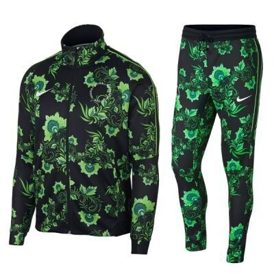 Nike Nigeria  Super Eagles Tribute Floral Veste Tracksuit