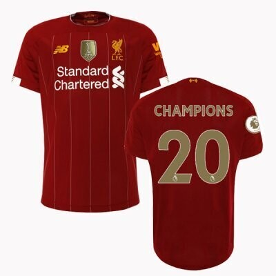 New Balance  Liverpool  EPL Champions Home Jersey 19/20