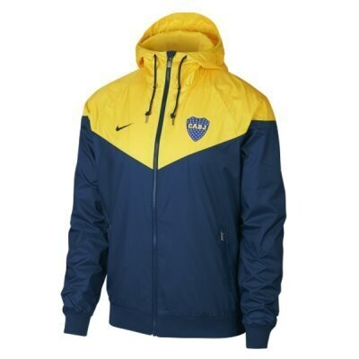 Nike Boca Juniors Navy Windbreaker Jacket
