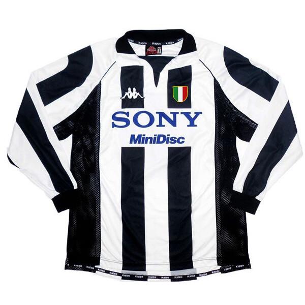Juventus Home Retro Long Sleeve Jersey 1997-98 (Replica)