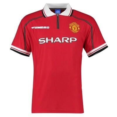 Manchester United Home Retro Jersey 1998-99 (Replica)