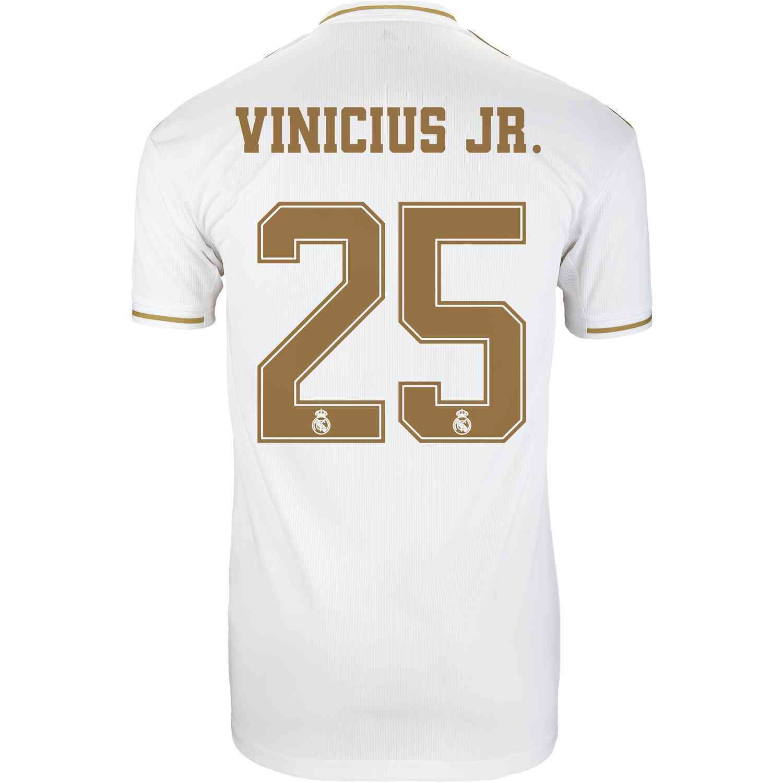 Real Madrid Vinicius Jr. Jersey 19/20