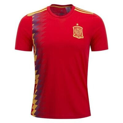 Spain Official Home Jersey Shirt 2018