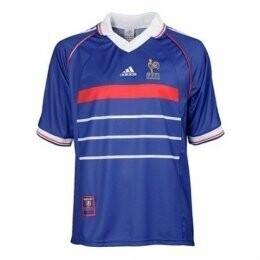 1998 France Home Retro Jersey Shirt (Replica)
