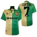 Manchester United Third #7 Cantona Retro Jersey 1992-94 (Replica)