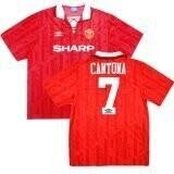 Manchester United Home #7 Cantona Retro Jersey 1992 -94 (Replica)