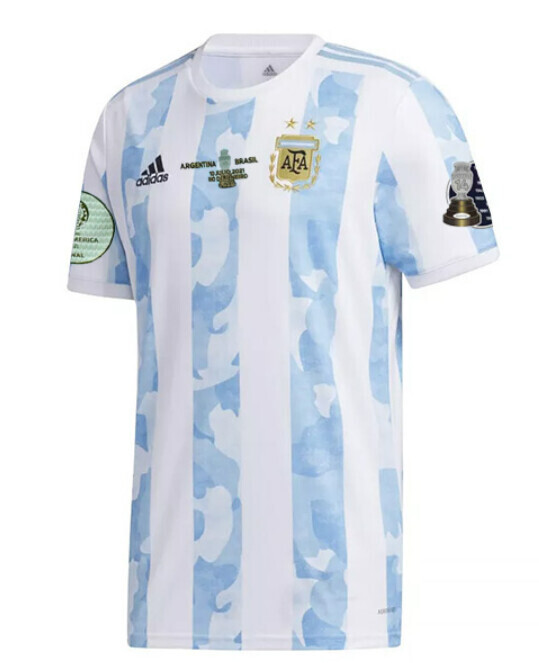 20-21 Argentina Copa America Final Shirt(Fans Version)