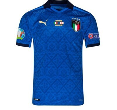 2020 Italy Home Euro Cup Final Shirt (Player Version)