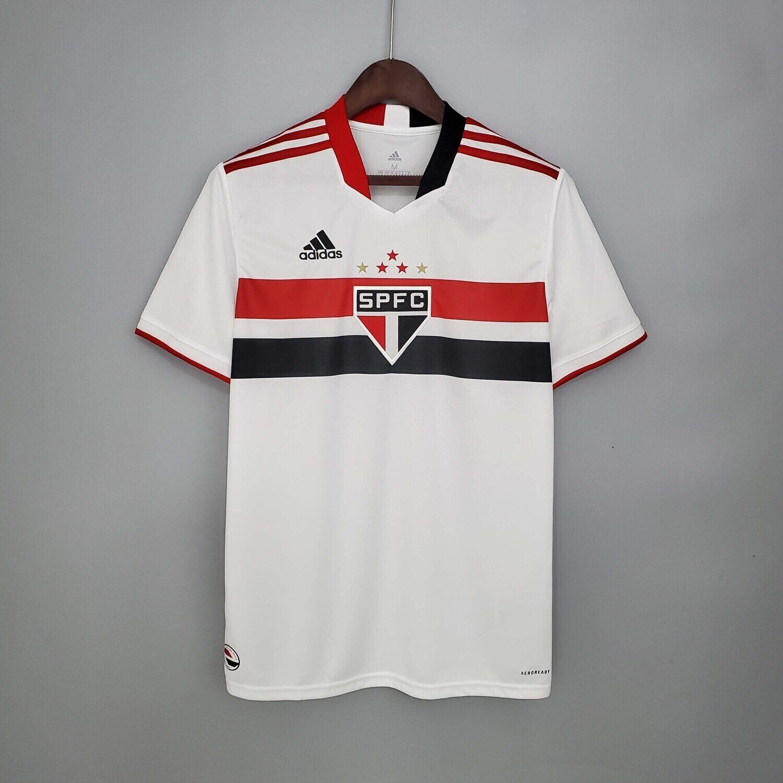21-22 Sao Paulo FC Home Jersey