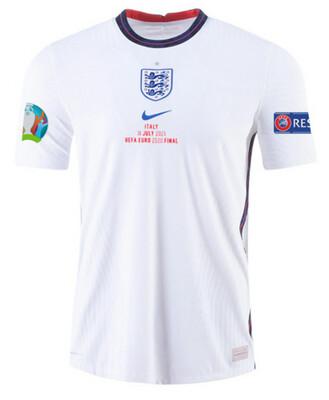 2020 England Home Euro Cup Final Shirt (Player Version)
