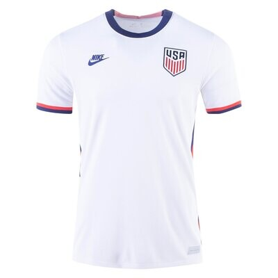 2020 USA Home White Soccer Jersey Shirt