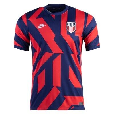 21-22 USA Away Navy Jersey Shirt