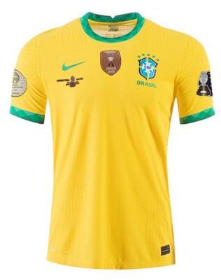 2021 Brazil Copa America Final Shirt (Fans Version)