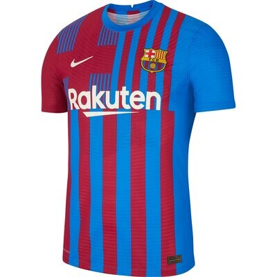Barcelona Home Soccer Jersey 21-22 (Player Version)