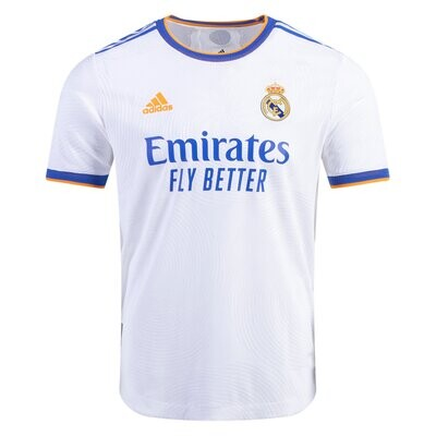 Real Madrid Home Soccer Jersey 21-22(Player Version)