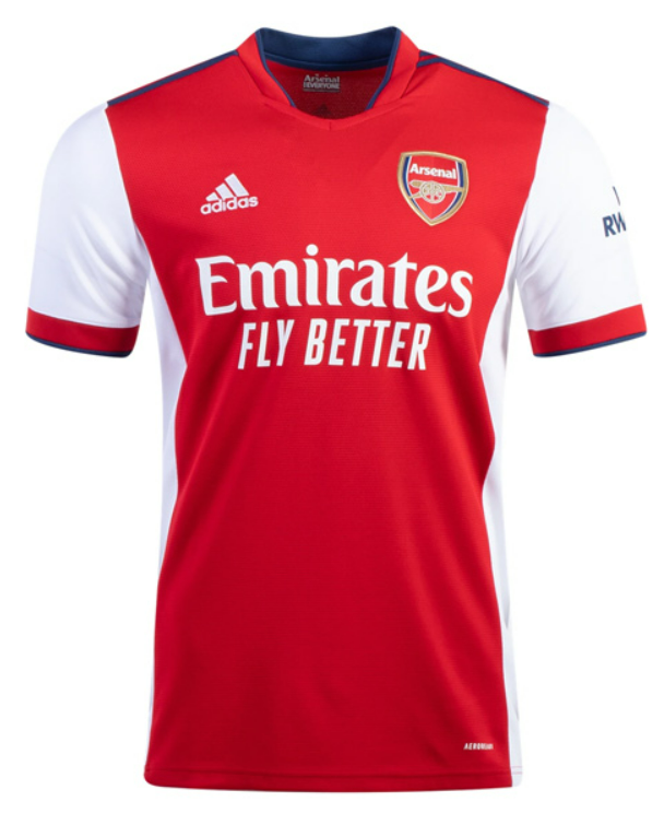 Arsenal Home Red Soccer Jersey Shirt 21-22