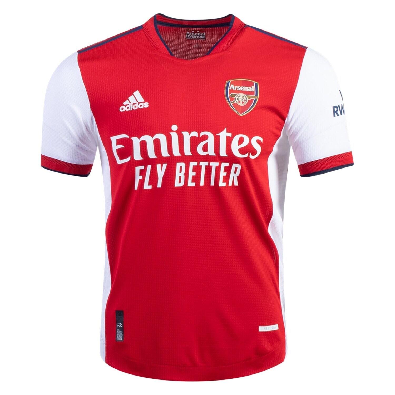 Arsenal Home Jersey Shirt 21-22 (Player Version)