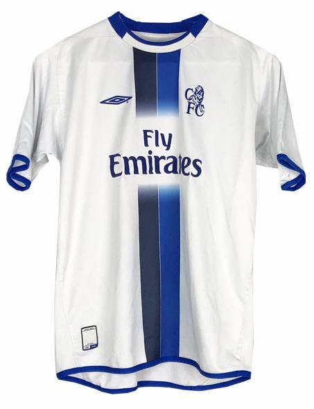 Chelsea Away Retro Jersey Shirt 2003-2005