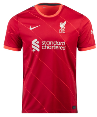 Liverpool Home Soccer Jersey 21-22