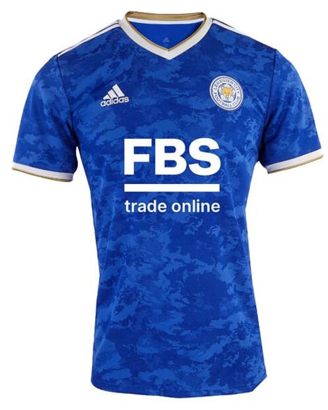 Leicester City Home Soccer Jersey Shirt 21-22