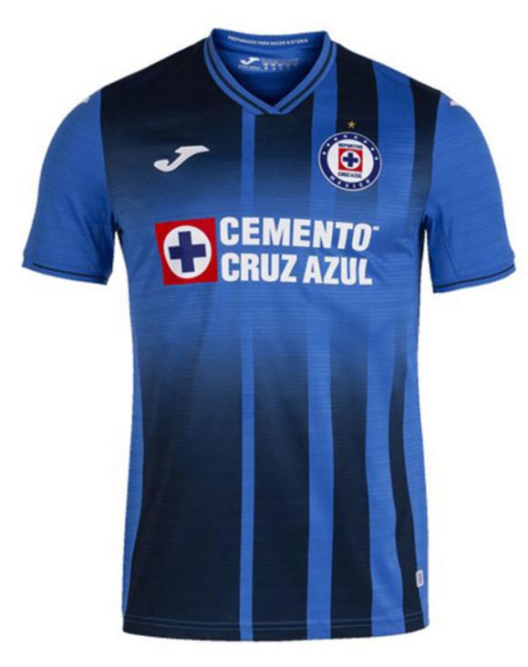 Joma Cruz Azul Home Blue Jersey Shirt 21-22