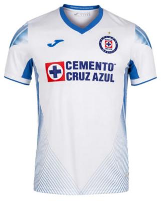 Joma Cruz Azul Away White Jersey Shirt 21-22