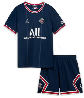 Paris Saint-Germain PSG Home Jersey Kids Kit 21/22